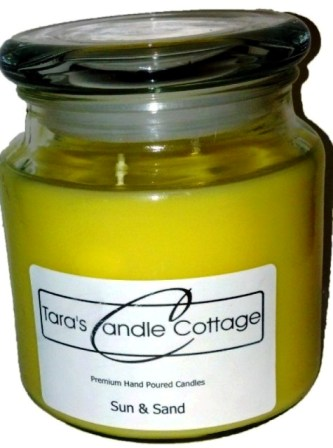 16 oz Jar-candles, hand poured, hand made candle, scented candles jar glass