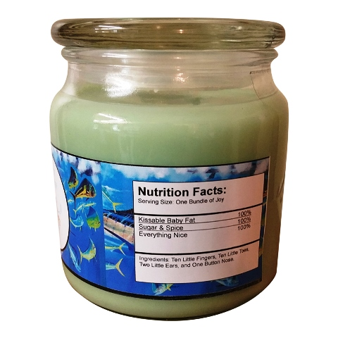 Custom Candles-custom label candles, custom candles, baby candles, wedding candles, special order candles, picture candles